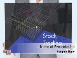 Portrait market stock exchange