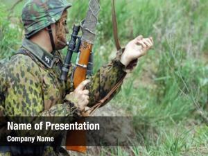 Soldier german infantry world war