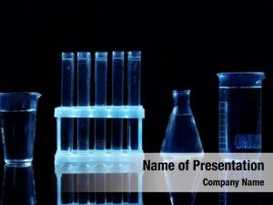 Test tubes chemical flasks black