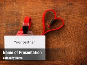 Blank id card powerpoint background