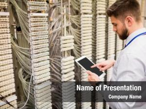 Communication digital technician using