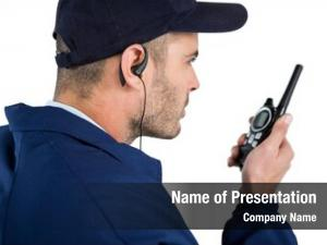 Security officer powerpoint theme