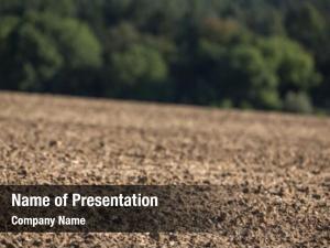 Farm very dry field