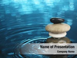 Water balanced stones