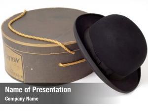 Hat old derby hat box
