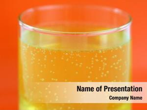 Flavored glass orange calcium effervescent