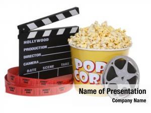 Still movie theater life popcorn,
