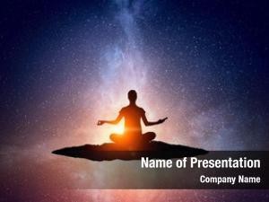 Outdoors spiritual yoga physical
