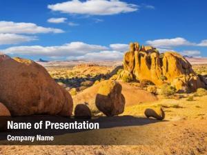 Rocks huge granite stones desert