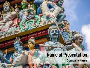 Hindu sri mariamman temple chinatown,