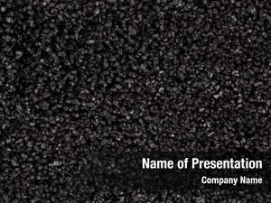 Grain black coarse salt heap