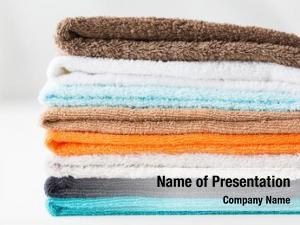 Hygiene fabric powerpoint background