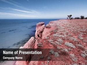 Nature beautiful infrared seascape
