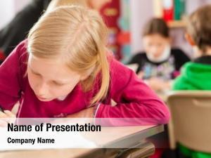 Teacher education pupils learning elementary