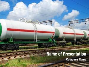Tank railroad transportation cars oil
