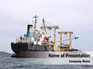 Freight cargo liner ship containers