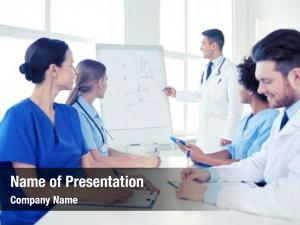 Medical education powerpoint background
