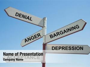 Sign stages grief