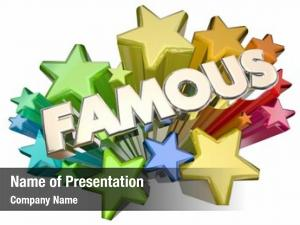 Fame famous celebrity stars vip