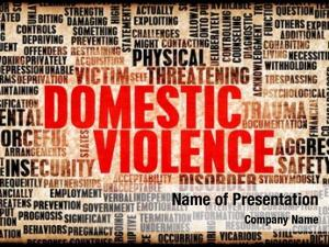 Abuse domestic violence abstract