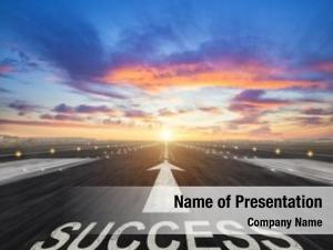 Success creative powerpoint template