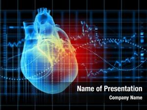 Heart virtual human cardiogram