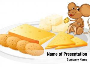 Mouse biscuits, cheese white