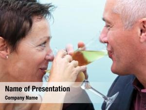 Married photo mature couple drinking