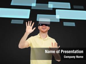 Reality, technology, virtual entertainment people