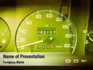 Speed car speedometer meter gauge
