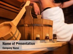 Accessories wooden bath aromatic oil
