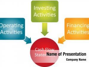 Statement cash flow business diagram