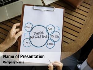 Businesswomen branding digital marketing