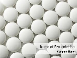 White pills or pharmaceutical