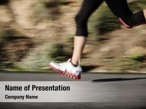 Blur action motion running feet