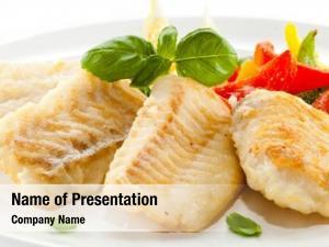 Fried fish dish fish fillet