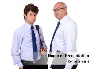 Attractive young successful smiling businessman