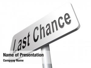 Final last chance warning opportunity,