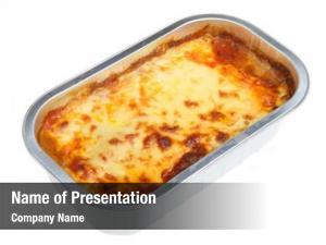 Meal lasagna convenience