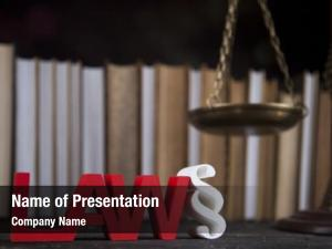 Paragraph sign powerpoint theme