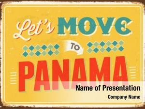 Panama on metallic