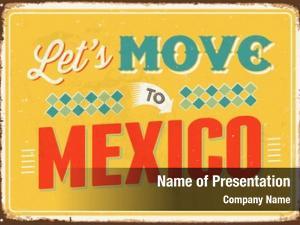 Mexico on metallic