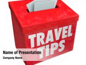 Words travel tips red suggestion