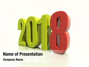 Text lettering 2018 design illustration,