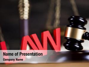 Punishment mallet law theme