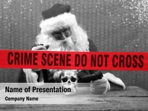 Scene santa crime