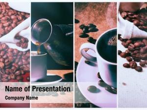 Turk coffee grinder, cup hot