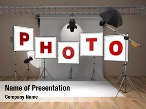 Equipment photo studio