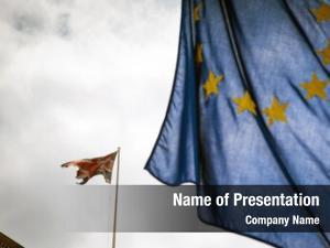 European united kingdom union flags