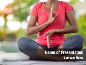 Woman young asian doing yoga